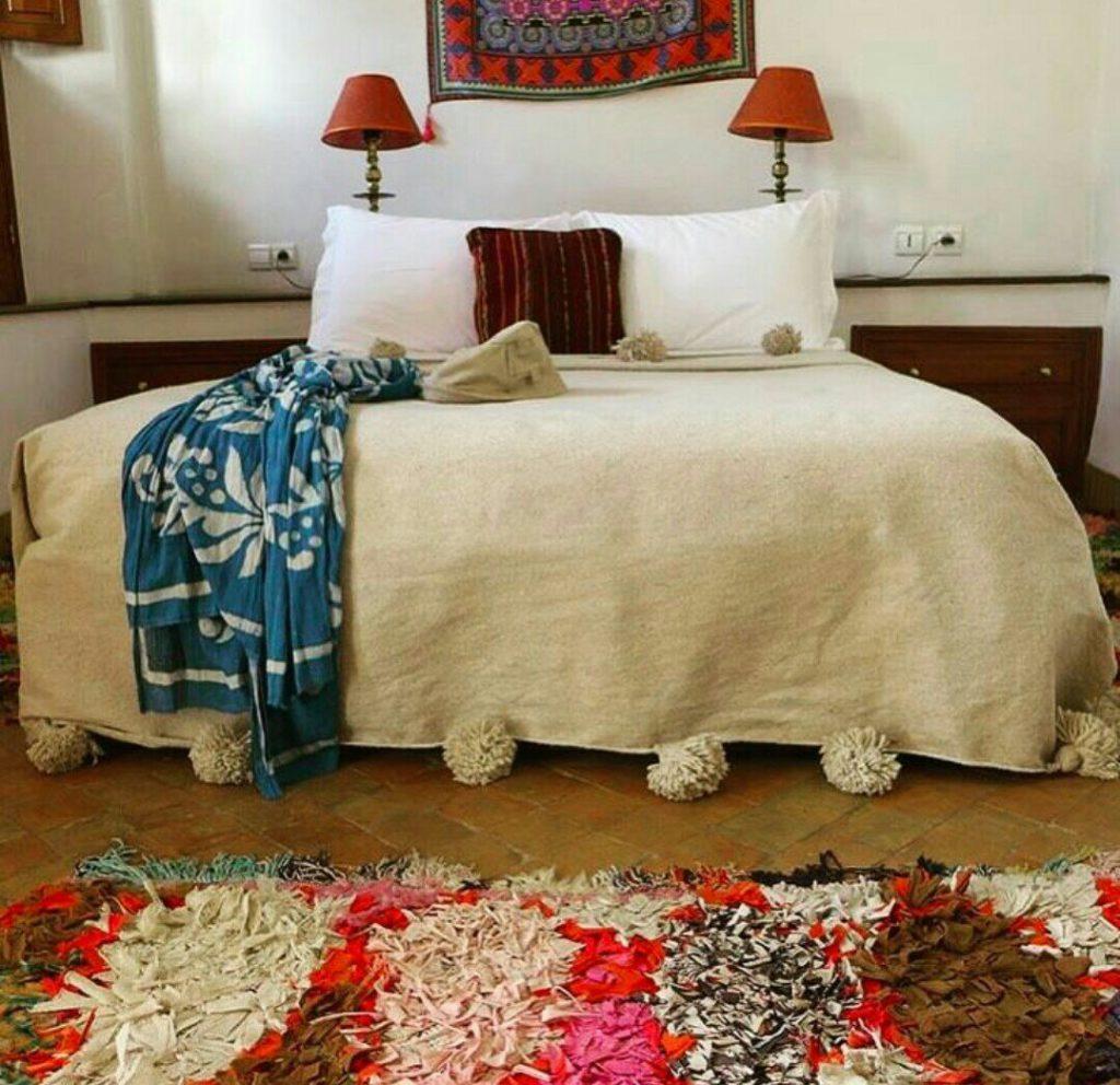 stanza di boutique hotel marocchina