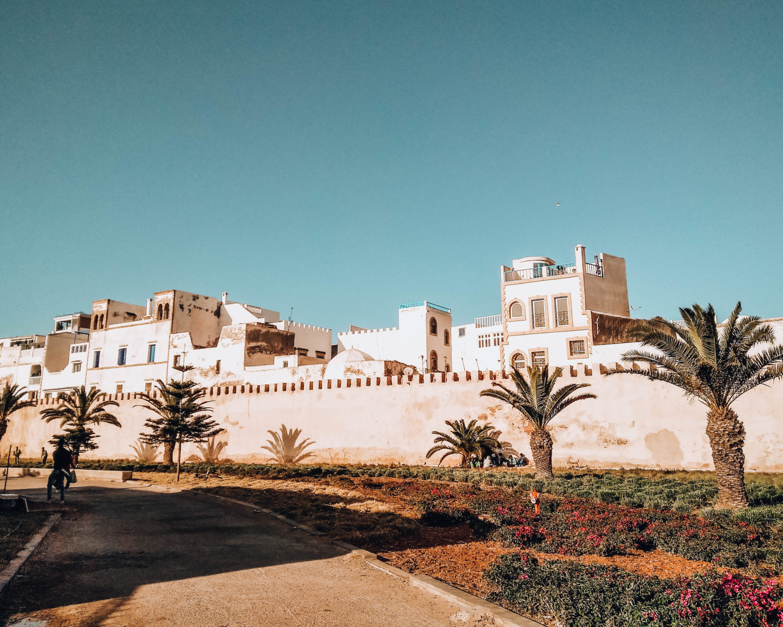 mura esterne di medina marocchina