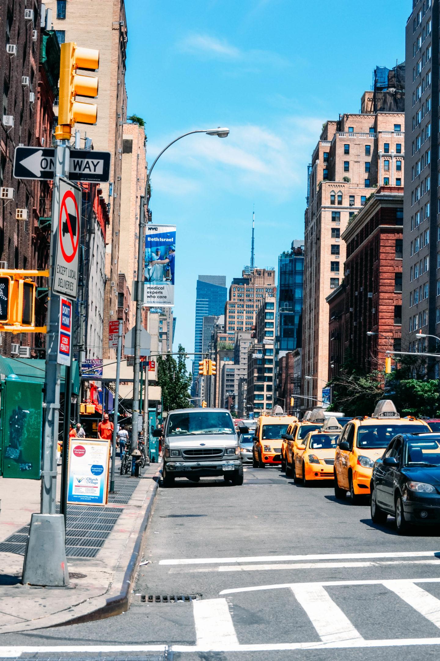 strade newyorkesi