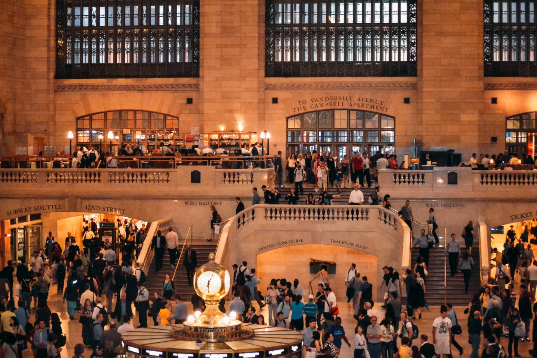 interno della grand central station