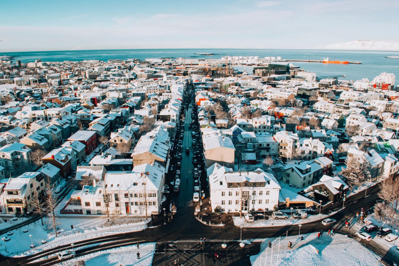 Un giorno a Reykjavík, itinerario a piedi